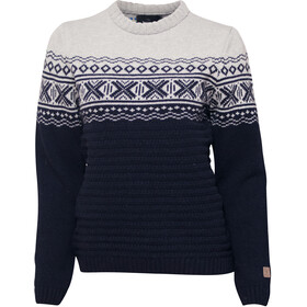 Ivanhoe of Sweden Jorunn Crew Neck Trui Dames, navy